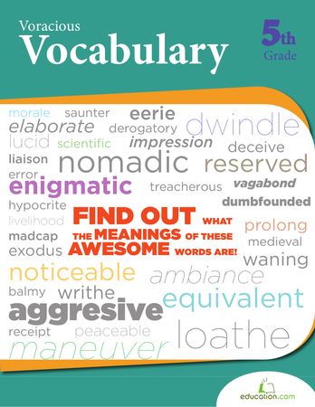 Voracious Vocabulary | Workbook | Education.com