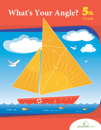 Fifth Grade Math Workbooks: What's Your Angle?