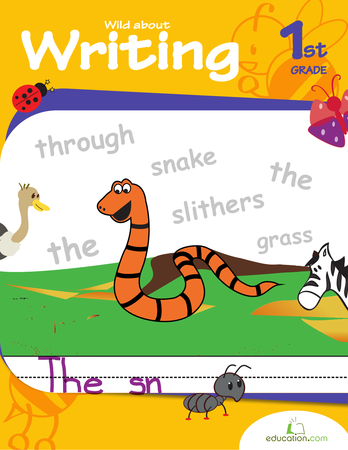 First Grade Reading & Writing Workbooks: Wild About Writing