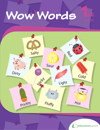 First Grade Reading & Writing Workbooks: Wow Words