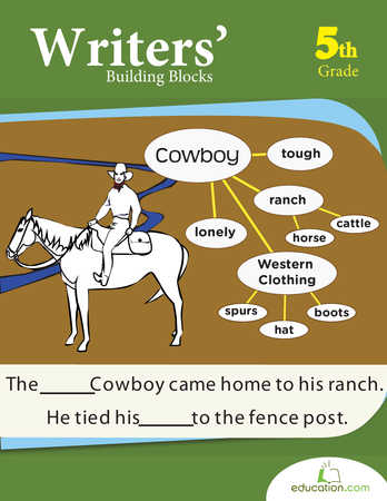 Fifth Grade Reading & Writing Workbooks: Writers' Building Blocks