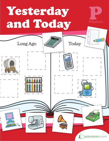 Preschool Math Workbooks: Yesterday and Today