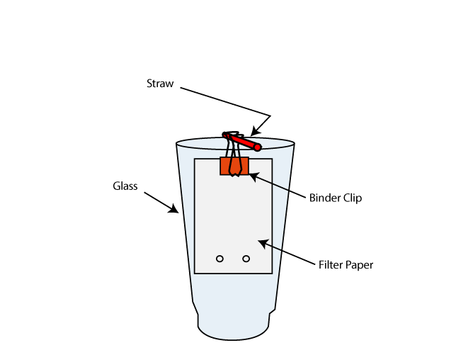 Candy Chromatography Diagram