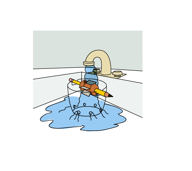Water Wheel Diagram