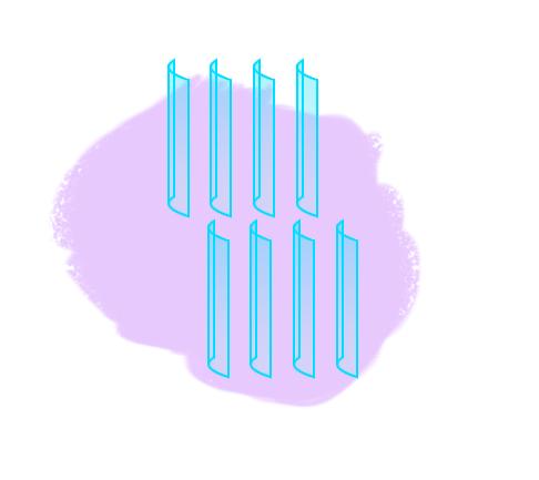 Renewable Energy Plastic Fins