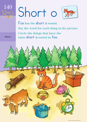 Sound Off, Short O: Practicing Phonics