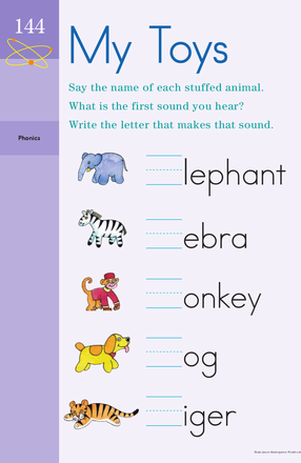 Toying with Phonics