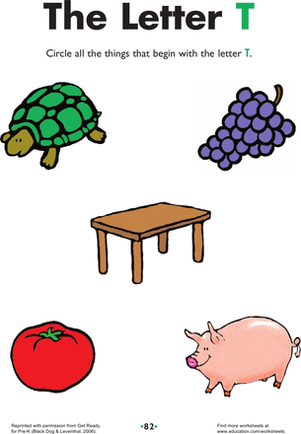 things that start with letter a clipart 19 letter t practice worksheet education 518