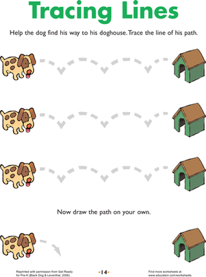 Line Tracing: Doggie Directions