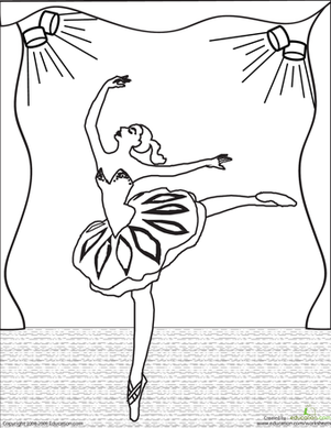 coloring book pages on stage - photo#19