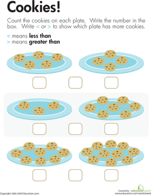 Cookie Jar Number Matching Free Printable | Totschooling - Toddler ...