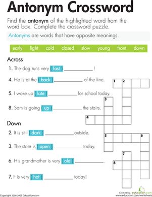Printables Phonics Worksheets 2nd Grade 2nd grade phonics worksheets abitlikethis second antonyms worksheets