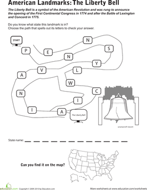 American Symbols Worksheets Second Grade - The Best and Most ...