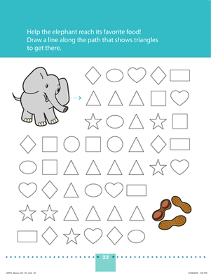 Preschool Math Worksheets: An Elephant Never Forgets!