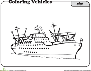 Color a Ship