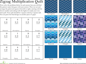 Make a Quilt: Multiplication #4