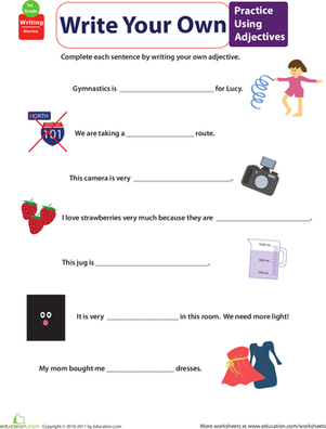 Get into Grammar: Practice Using Adjectives