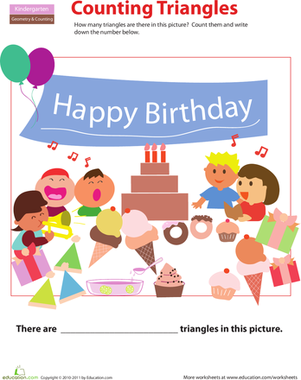 Birthdays Worksheets Free Printables