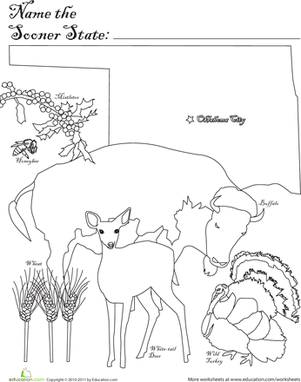 show me more oklahoma sooners colouring pages. Black Bedroom Furniture Sets. Home Design Ideas
