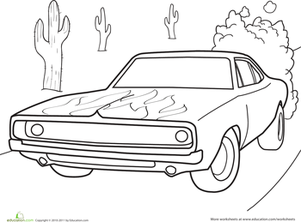 Dodge Charger | Worksheet | Education.com