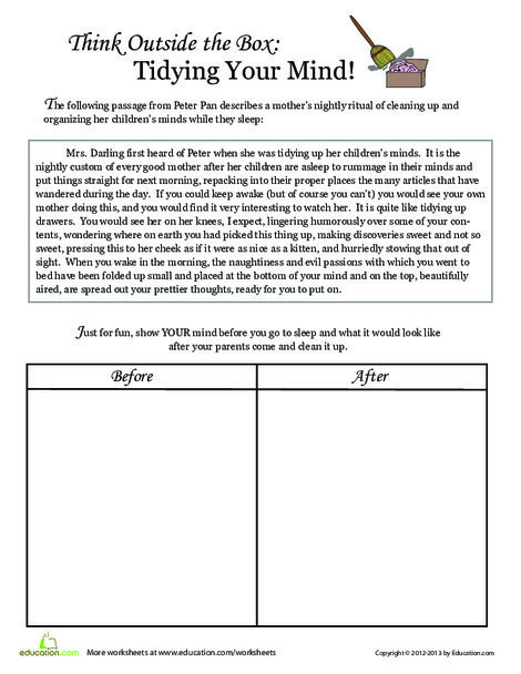 Fifth Grade Reading & Writing Worksheets: Would You Mind?