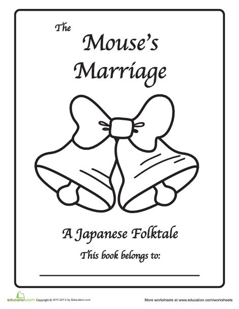 First Grade Reading & Writing Worksheets: Japanese Folktale: The Mouse's Marriage