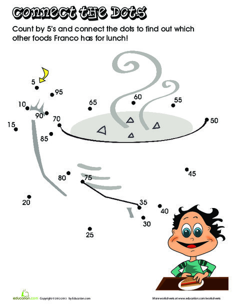 "Second Grade Math Worksheets: ""Skipping"" Breakfast"