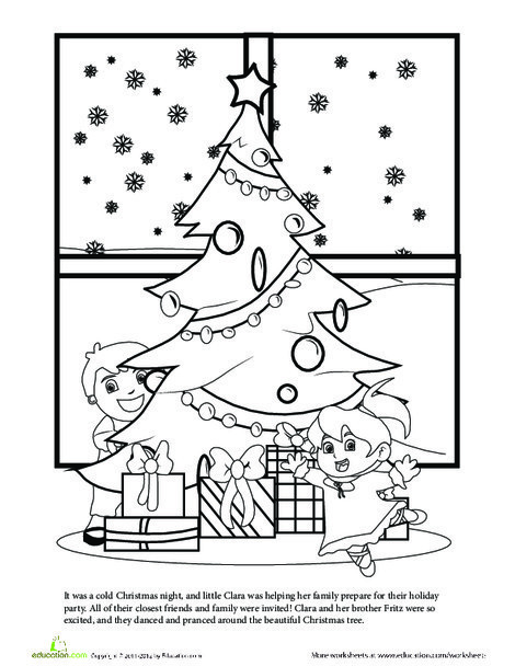 Second Grade Reading & Writing Worksheets: The Nutcracker Story